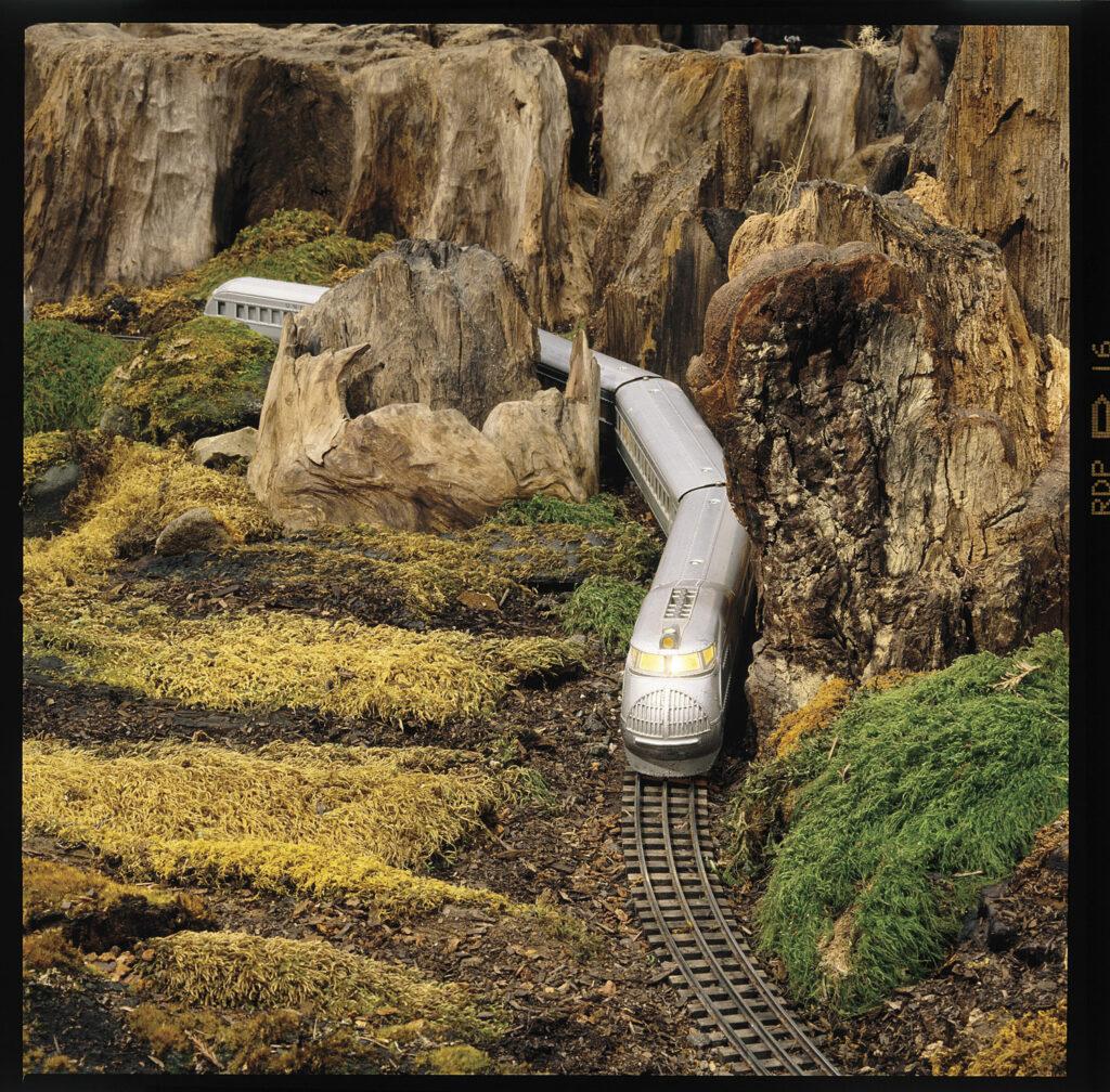 Neil Young's O gauge railroad