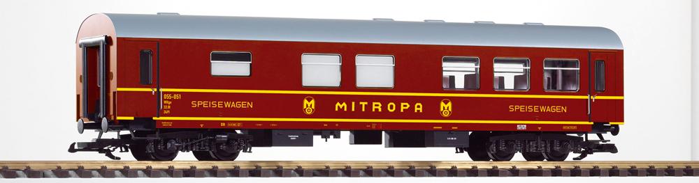 Deutsche Reichsbahn era III Reko second-class diner Mitropa.