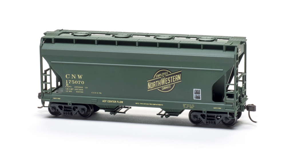 Accurail two bay covered hopper