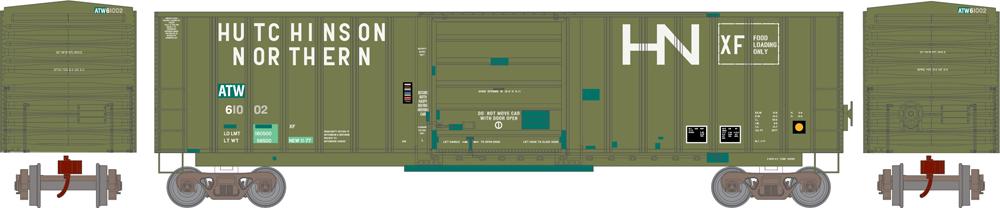 Athearn Atlantic & Western 50-foot SIECO boxcar.
