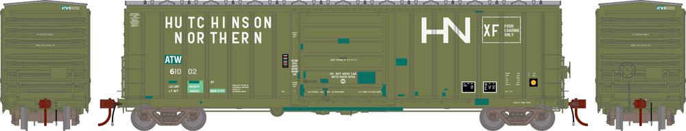 Atlantic & Western 50-foot SIECO boxcar.