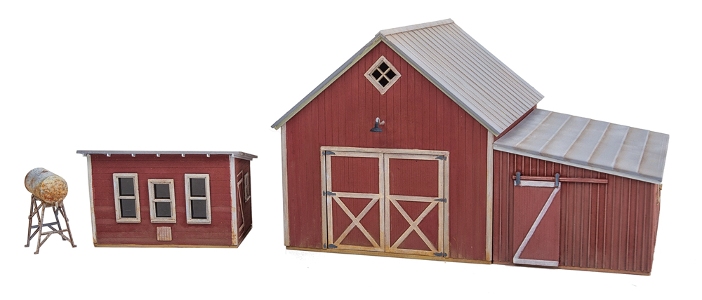 Chicken coop and farm building kit.