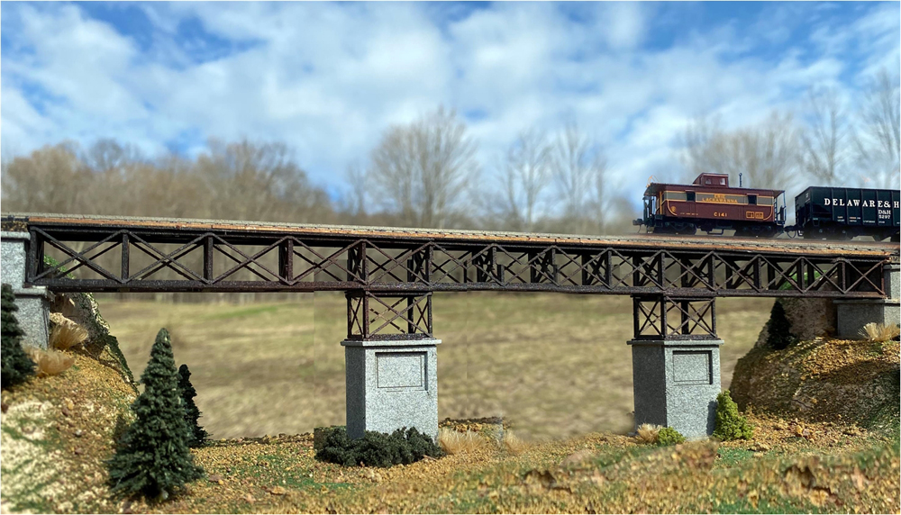 N Scale Architect bridge kit.