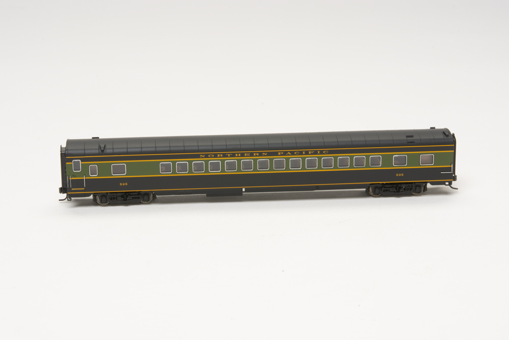 Northern Pacific 1947 North Coast Limited lightweight coach.