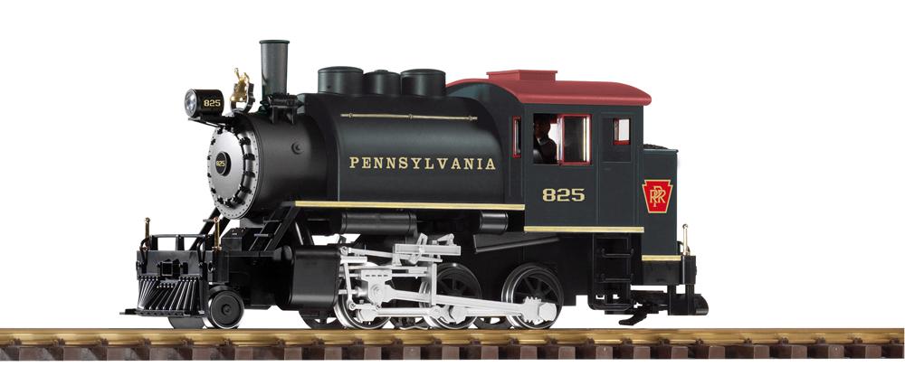 PIKO-America Pennsylvania RR 2-6-0T saddletank steam locomotive.