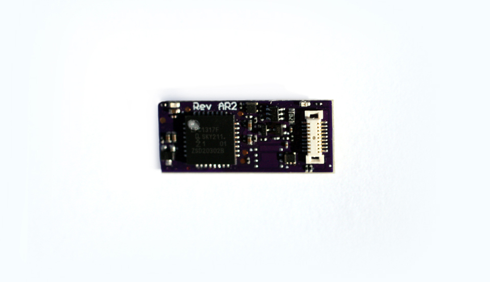 SoundTraxx TSU-N18 sound decoder.