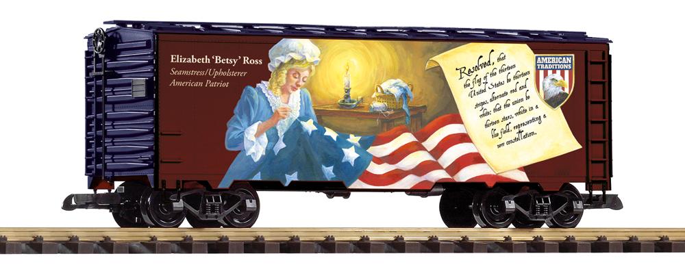 Betsy Ross American Traditions refrigerator car.