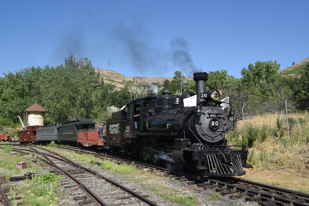 Narrow guage steam engine