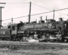 Black-and-white broadside view of 2-6-6-2 steam locomotive