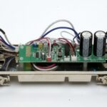 Menards O gauge Santa Fe F3 interior and electronics