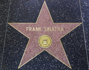 Frank SInatra's Hollywood Walk of Fame star