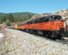 Model train on Model train on a garden railroada garden railroad