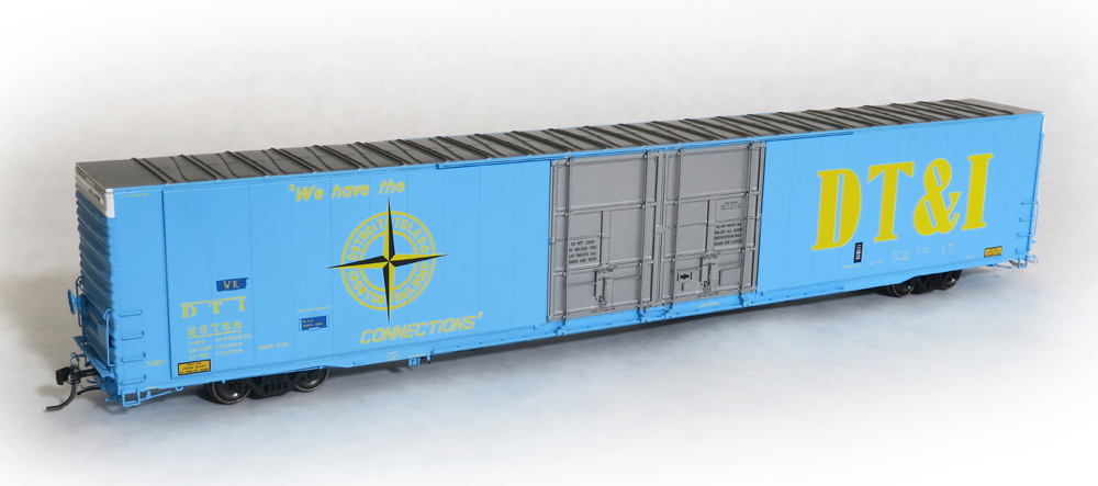 Baltimore and Ohio 86-foot high-cube double-plug-door boxcar