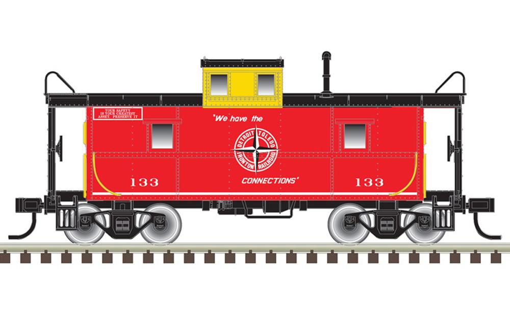 Detroit, Toledo & Ironton C&O cupola caboose.