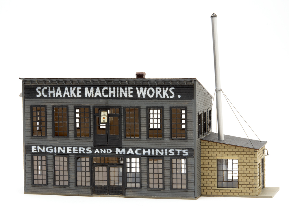 Inter-Action Hobbies HO Schaake Machine Works structure kit