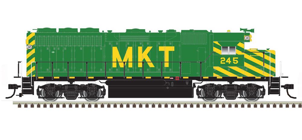 MKT Electro-Motive Division GP40 diesel locomotive.