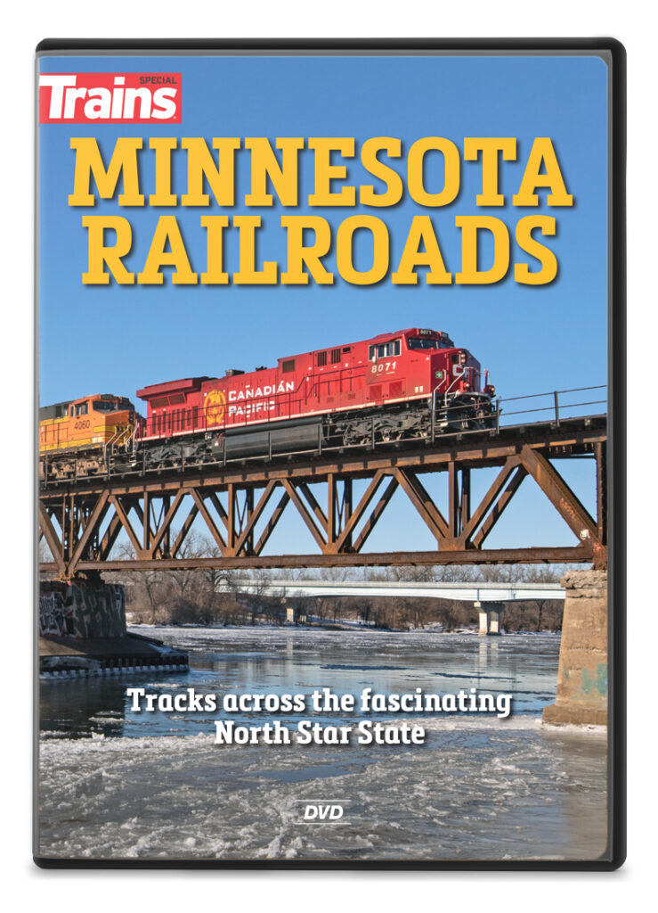 Trains magazine Minnesota Railroads DVD available at the Kalmbach Hobby Store.
