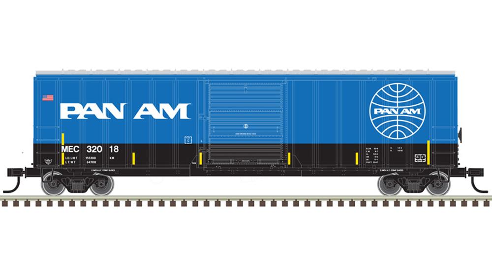 "50'-6"" Pan Am boxcar"