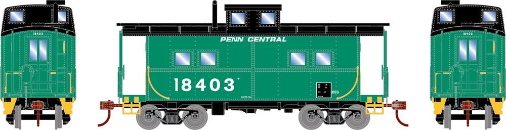 Penn Central eastern four-window caboose.