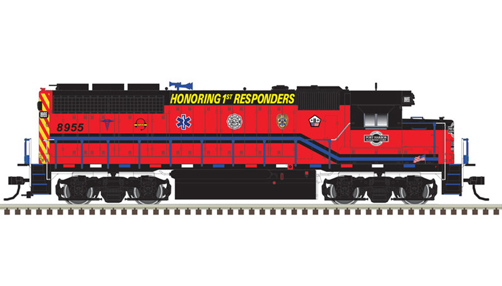 Port Harbor Railroad Corp. Electro-Motive Division GP40 diesel locomotive.