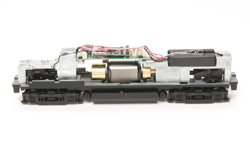 Locomotive interior wiring