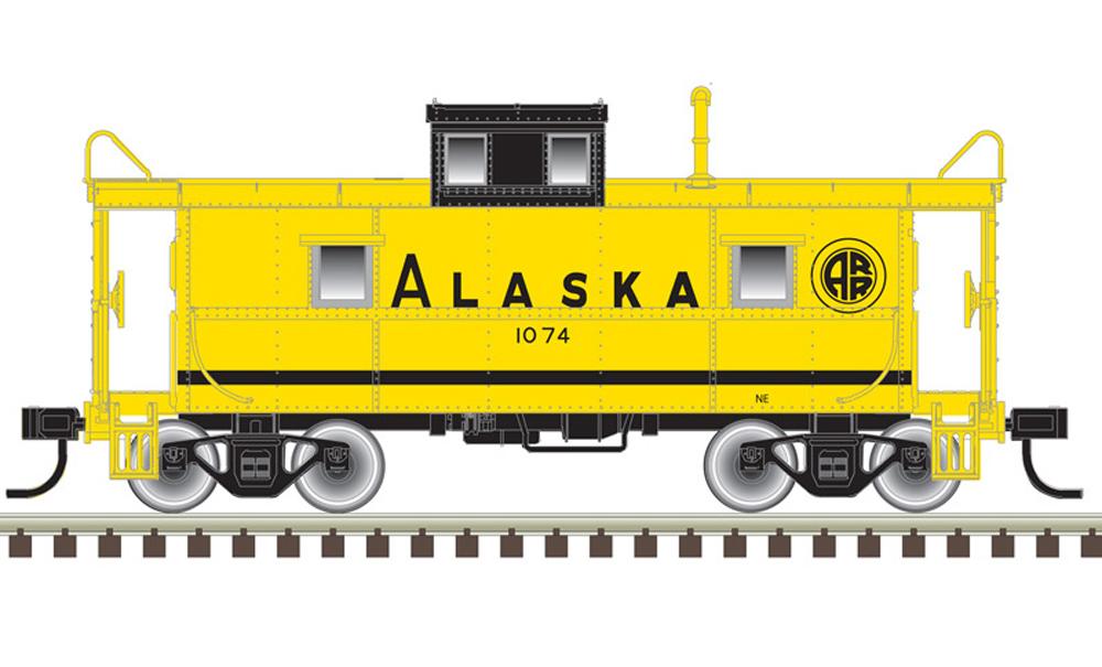 Alaska Chesapeake & Ohio cupola caboose.
