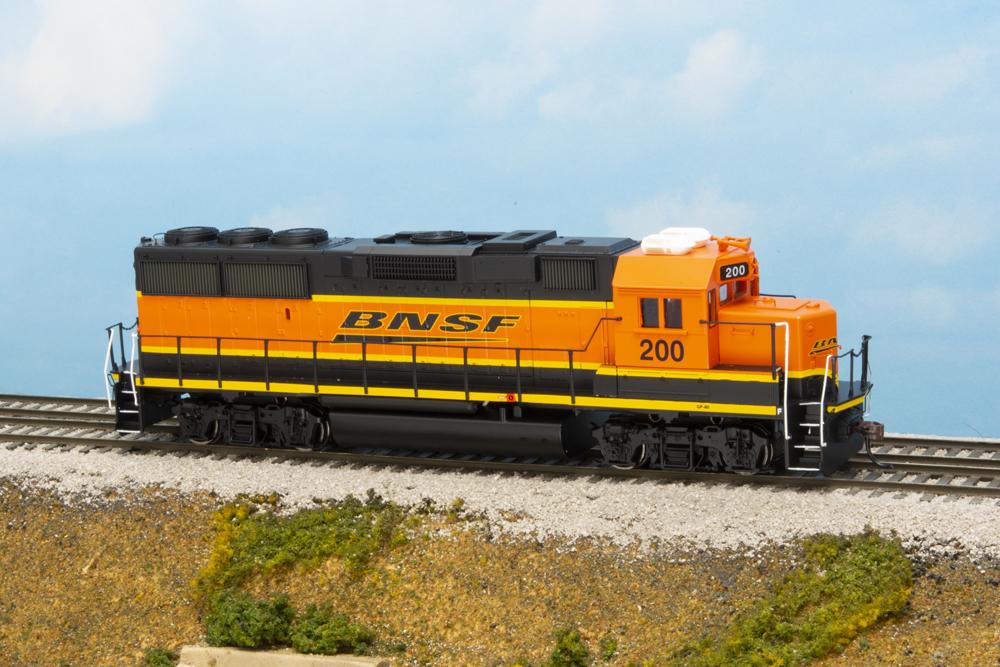 BNSF Ry. Electro-Motive Division GP59 and GP60 diesel locomotives