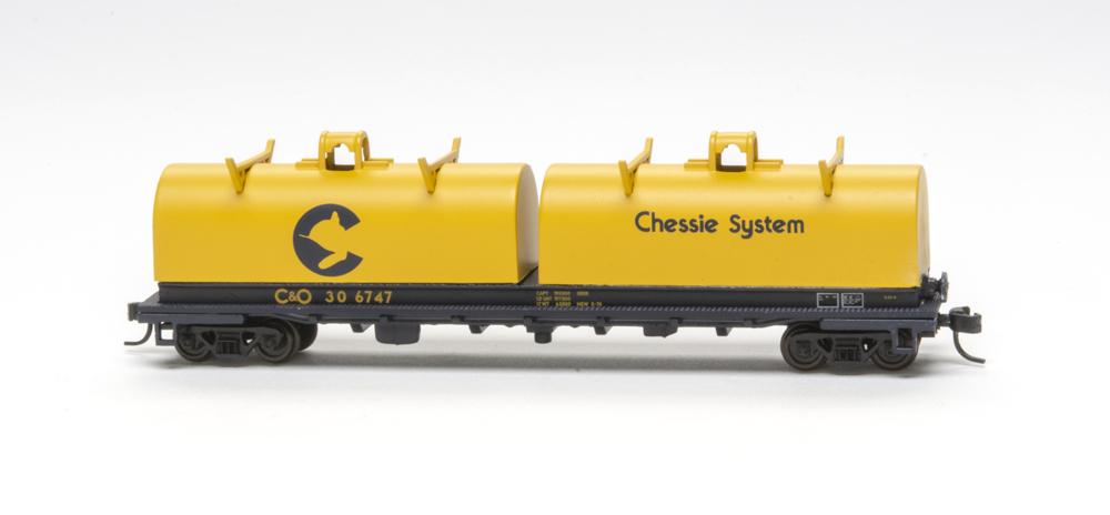Chessie System 48-foot cushion coil car.