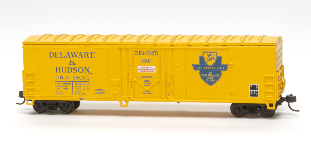 Delaware & Hudson North American Car Co. 50-foot insulated boxcar.