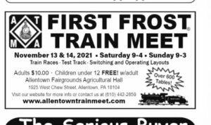 An ad for a train meet.