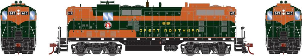 Great Northern Electro-Motive Division GP7 diesel locomotive.
