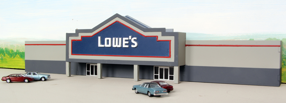 Lowe's home improvement center low-relief kit.