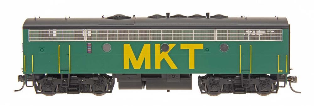 Missouri-Kansas-Texas Electro-Motive Division F7B diesel locomotive.