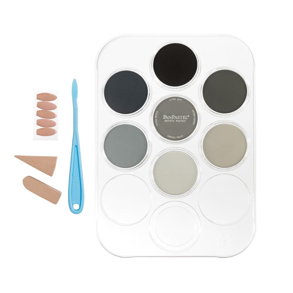 PanPastel Scenery colors kit.