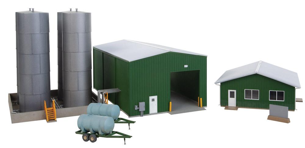 Fertilizer distribution facility.